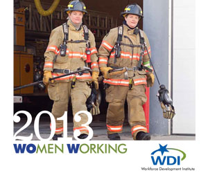 2013 Women Working Calendar