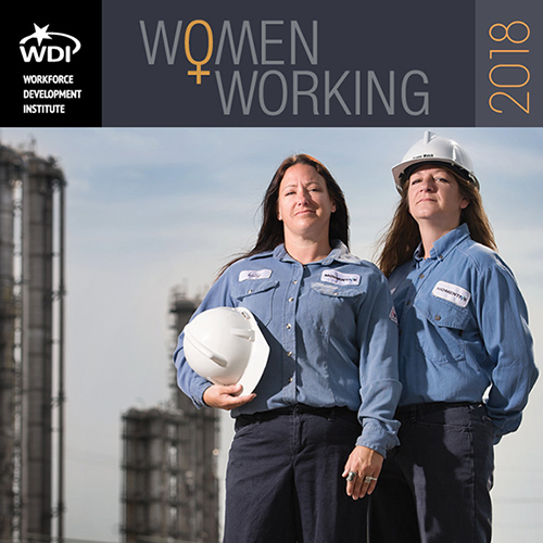 2018 Women Working Calendar